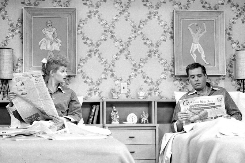 Living Together Sleeping ApartB. In TVu0027s I Love Lucy ... Part 90