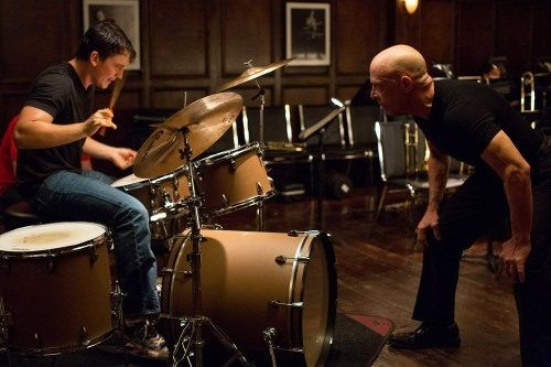 WHIPLASH - 2014 FILM STILL - (L-R): Miles Teller AND JK Simmons - Photo Credit: Daniel McFadden/Courtesy of  Sundance Institute