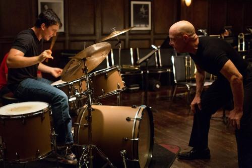 WHIPLASH - 2014 FILM STILL - (L-R): Miles Teller AND JK Simmons - Photo Credit: Daniel McFadden/Courtesy of  Sundance Institute